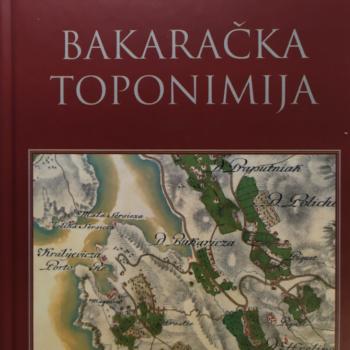 Bakaračka toponimija