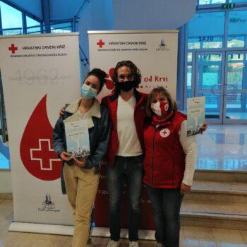 Fotocrtica: U Kostreni i novi darivatelji krvi