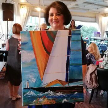 Uspješna donacijska aukcija slika
