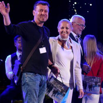 Zlatan Marunić, Ankica Kruljac predsjednica Uprave Novoga lista i maestro Andrej Baša