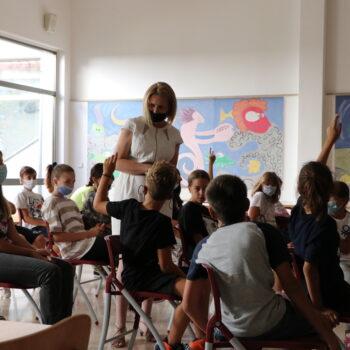 Načelnik Vranić susreo se s učenicima Osnovne škole Kostrena